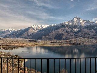 Residence Campasc (3 unita) stupenda vista lago, zona tranquilla e soleggiata