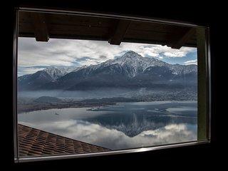 2 abitazioni adiacenti con spettacolare vista lago