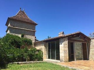 En pleine nature à Cahors : Les Caz'Elles, chambre d'hôte Ethel Smyth