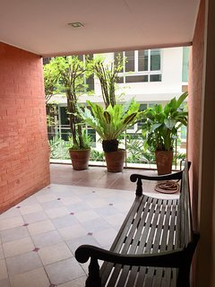 Sitting area at the Front Entrance to the Apartment