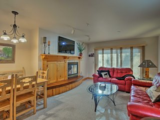 NEW! Cozy Driggs Condo w/Hot Tub & Shuttle Service