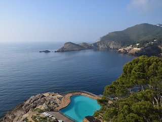 Apartamento familiar lujo primera linea de mar, Cap Sa Sal, Begur, Costa Brava