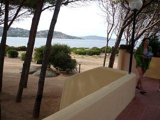 casa con giardino sul mare.Spiaggia a 2 minuti