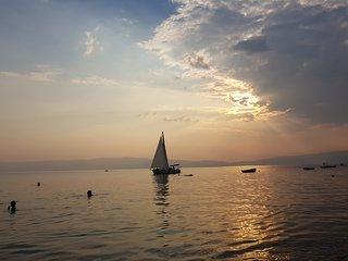 Lake Ohrid White Apartment