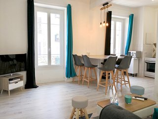 3BR apartment 'ONE Republique', free wifi, nearby Palais des expositions