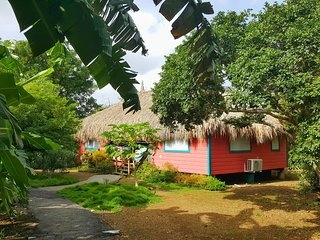 Eco-friendly two bedroom palapa Flamingo