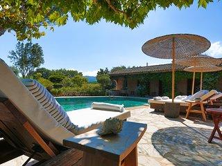 Villa avec piscine au ceour des vignes