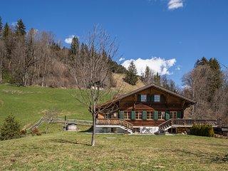 Confortable chalet avec sauna dans les Alpes