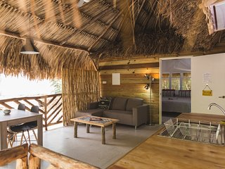 Eco-friendly wheelchair accessible palapa Kunuku