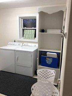 Laundry room on 1st floor