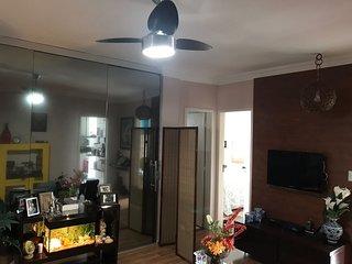 Quarto Suíte Casal em Apartamento Aconchegante