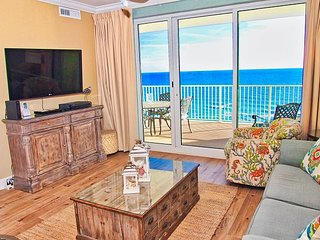 Fabulous 2 BR Condo - Gulf Front with FREE Beach Service!! New Tile Flooring!