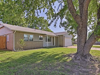 NEW Cozy House w/Yard Minutes from Downtown Tulsa!