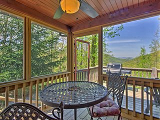 NEW! Bryson City Cabin w/Private Spa & Mtn. Views!