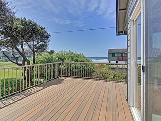 Open ocean views from this great home with special touches!