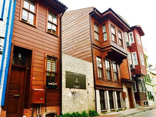 Historical Row House in Old City Istanbul