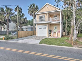NEW! Lovely St. Augustine Home - 4 Miles To Beach!