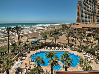 NEW! Condo w/Pensacola Beach Views from Terrace!