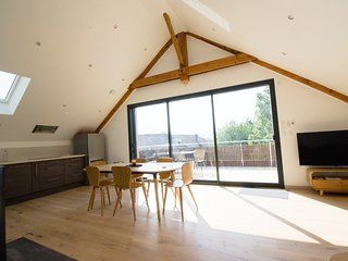 Bright, quiet accommodation with views of the Chartreuse mountain