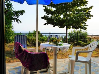 3studios, garden with seaview, 7min from the beach