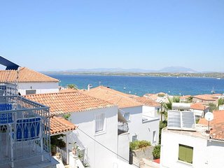 'Mata' with seaview in timeless Spetses