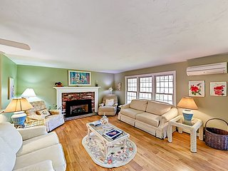 Historic Barnstable Village 4BR w/ Private Hot Tub & Yard, Near Beach