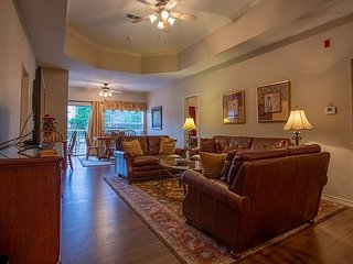 A Grand Escape at this 4 Bed 4 Bath Condo right off The Branson Strip!