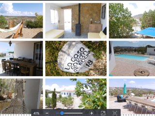 NATURE HOUSE GALAN DE NOCHE ZURGENA, stone beds, Wifi, Sky, swimmingpool