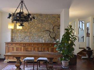 Villa 'La Casa di Agnese' a 600m da San Gimignano con giardino, garage, solarium