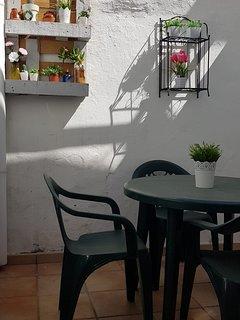 patio para desayunar