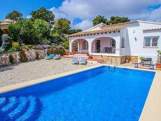 Susana - this lovely detached holiday property in Moraira