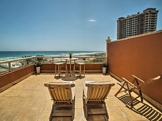NEW-Resort Pensacola Beach Condo w/Private Terrace