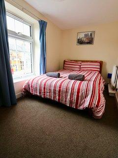 Bedroom #4 - double bed