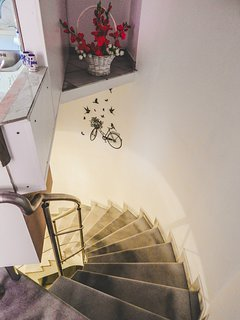 Indoor Stairs Leading to the 2nd Floor