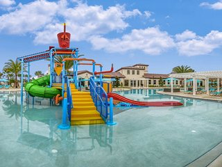 N4 - Disney Villa * Windsor at Westside * Water Park Gym Club House ac 9BR/6bath