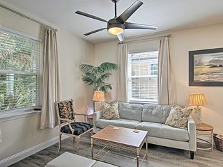 NEW! Cozy Home Near Beach- Historic St. Augustine!