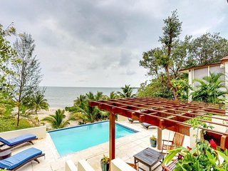 NEW LISTING! Beachfront villa w/private pool, terrace & gorgeous Caribbean views