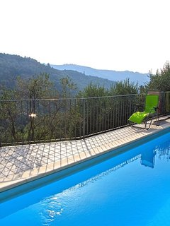 This is a typical Ligurian farmhouse, 20 minutes from the sea and sandy beaches.