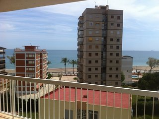 Apartamento en Benicasim 3 hab frontal al mar