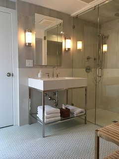 Lower Level Master Bath.