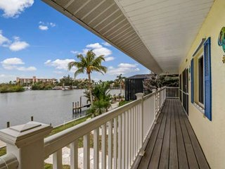 Old Florida-Key West Style Gulf Access Waterfront Home, Stunning Design & Decor,