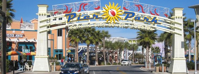 Pier Park is just minutes away with entertaining venues,restaurants, and great shopping
