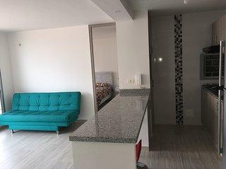 Apartamento comodo, moderno y luminoso en Ricaurte