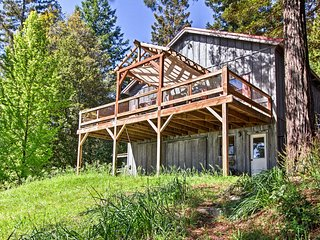 NEW! Sonoma Coast Home by Russian River w/Sea View