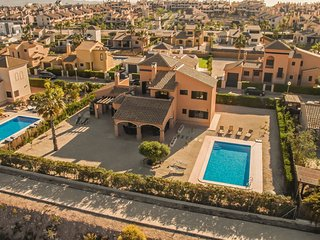 HL 004 Super luxurious villa  at Hacienda Del Alamo Golf , Murcia