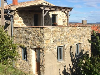 Restored village house with terrace and stunning views
