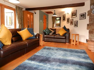 Living Room with views over the river Wye  to Coppett Hill