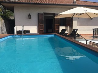 Villa con piscina nel parco dell'Etna