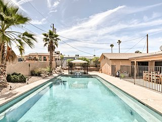 NEW! Lake Havasu Home w/Pool, Spa, & Rooftop Deck!