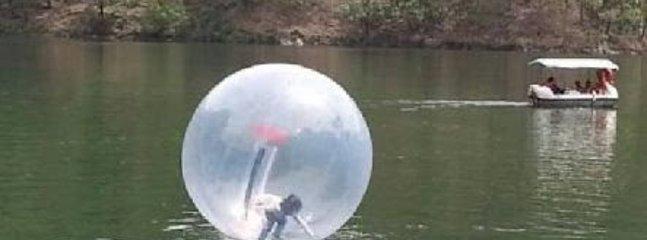 Water sports at the Sattal Lake